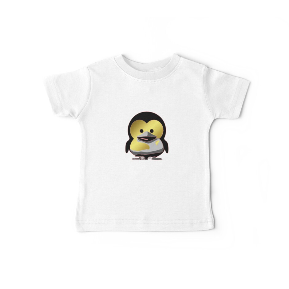 Linux Baby Tux d'Or by eritor