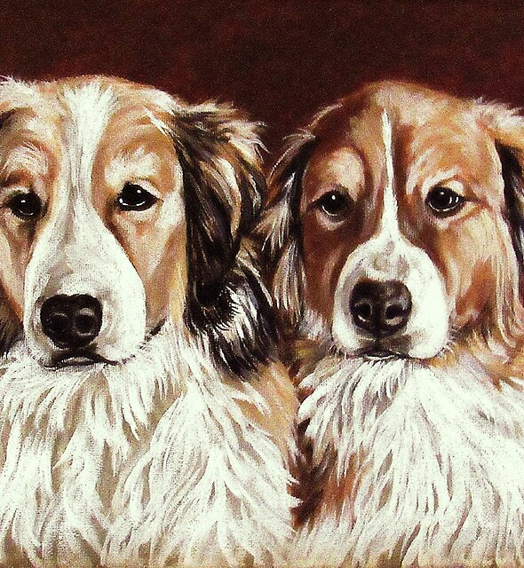 Sarge and Scout by Susan McKenzie Bergstrom