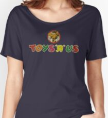 """Toys """"Я"""" Us Vintage 1986 Women's Relaxed Fit T-Shirt"""