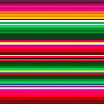 Mexican Themed Stripes by RainBowEscence