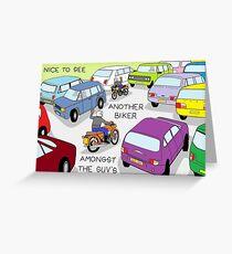 SUV Greeting Card