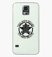 This Mom Wears Combat Boots Case/Skin for Samsung Galaxy