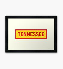 Tennesse Framed Print