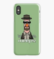 I am the one who meeps! iPhone Case