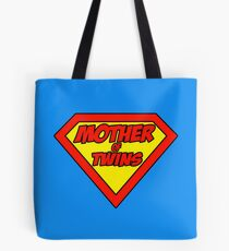 Super mom Mother of Twins Tote Bag