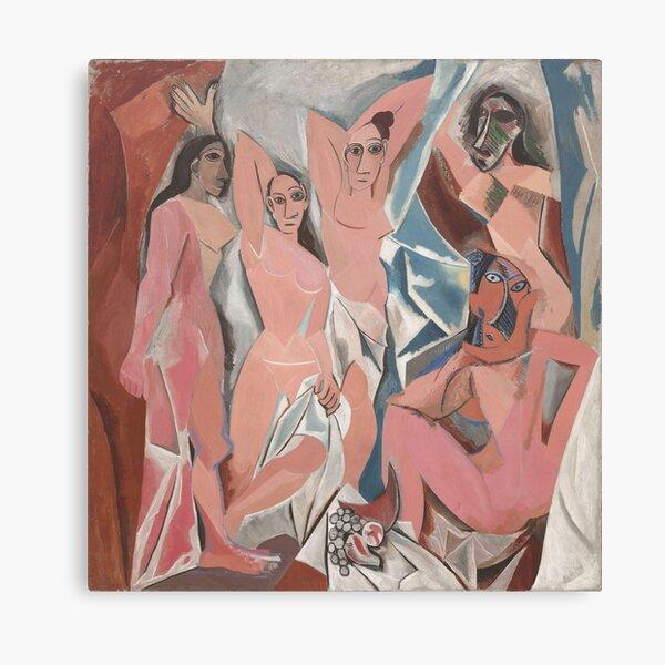 Pablo Picasso - Les Demoiselles d'Avignon Canvas Print