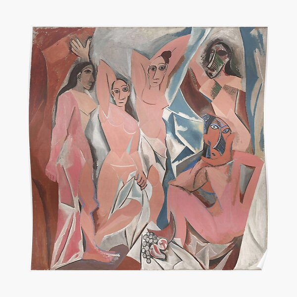 Pablo Picasso - Les Demoiselles d'Avignon Poster