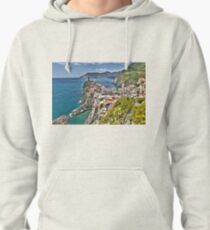 Vernazza Back View Pullover Hoodie