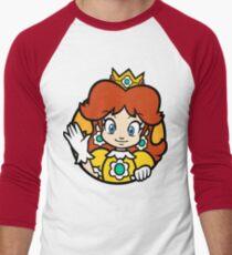 Princess of Sarasaland Men's Baseball ¾ T-Shirt