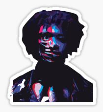 Danny Brown Glitch Sticker