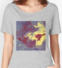 Fluid Grunge-Available As Art Prints-Mugs,Cases,Duvets,T Shirts,Stickers,etc Women's Relaxed Fit T-Shirt
