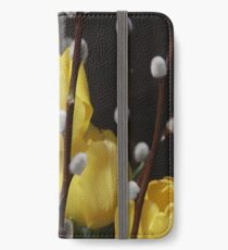 Yellow Tulips Welcome Spring! iPhone Wallet/Case/Skin
