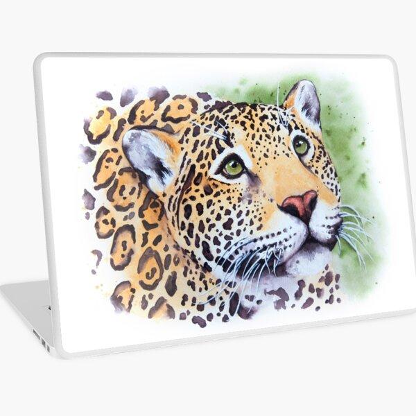 Jaguar Watercolor Laptop Skin