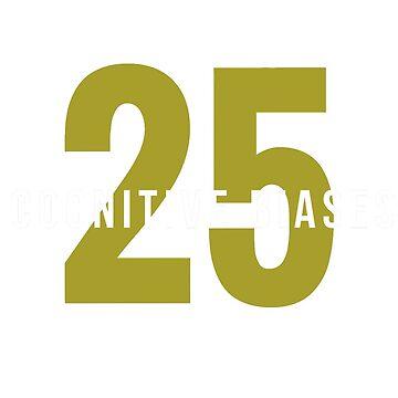 25 COGNITIVE BIASES MUG by 25cognitivebias