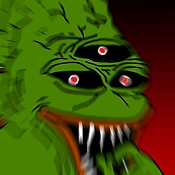 Very Scary Pepe by jamsbrah