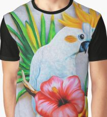 Sulphur‑crested Cockatoo Graphic T-Shirt