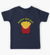 Happy Fries Day  Kids Tee