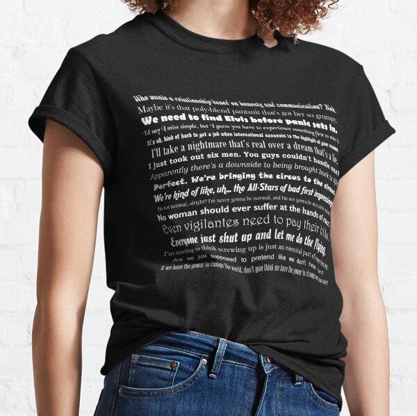 Sara Lance Quotes Classic T-Shirt