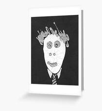 Slenderman - Le Spectre Greeting Card