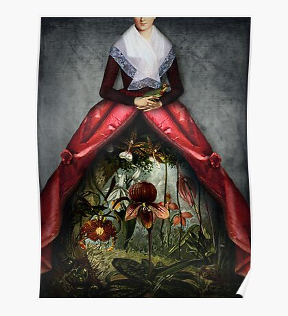 Her garden Poster