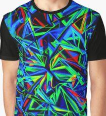 MAYAN SPACE UV Grafik T-Shirt