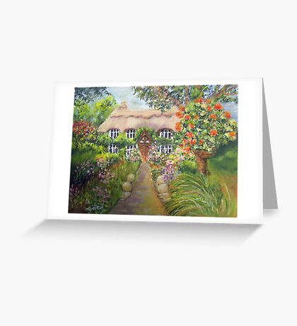 Cottage in Sussex Greeting Card