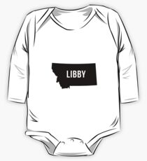 Libby, Montana Silhouette One Piece - Long Sleeve