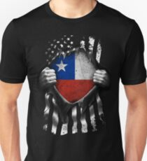 Chilean American Flag USA Chile Unisex T-Shirt
