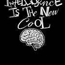 Intelligence Is The New Cool by johnspainart