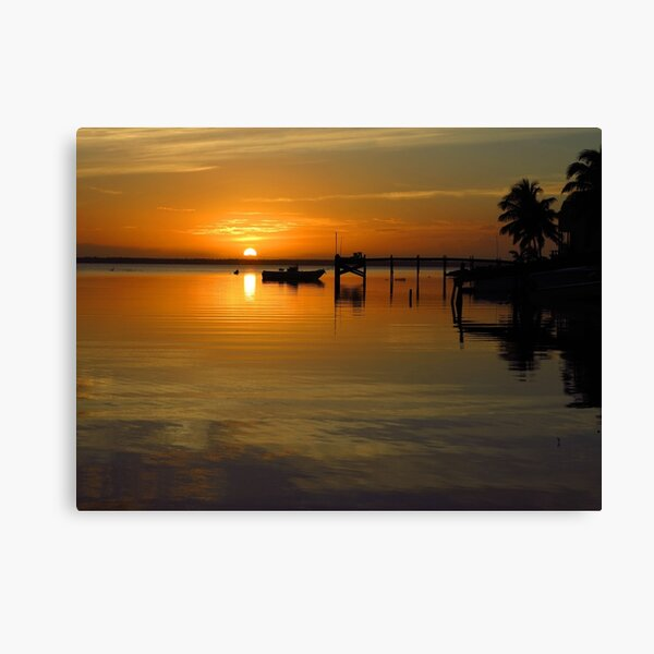 South Beach Sunset  Canvas Print