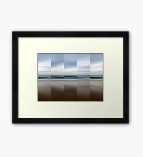 Changing With The Tide Framed Print