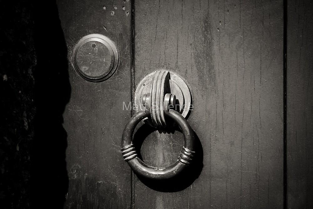 Door nob by Matt Sillence