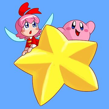 Ribbon and Kirby by TerraTerraCotta