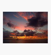 Moody Sunset  Photographic Print