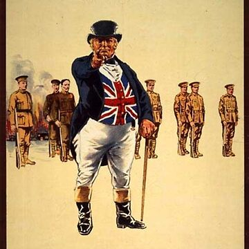 vintage recruitment poster by simeonrussell