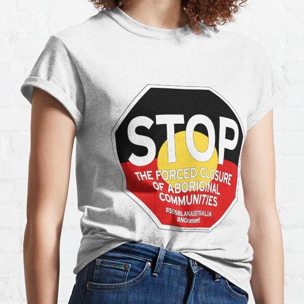 OFFICIAL MERCHANDISE - #SOSBLAKAUSTRALIA design 2 Classic T-Shirt