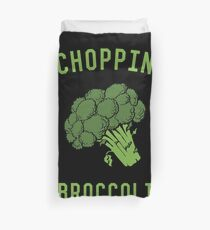 Choppin' Broccoli Duvet Cover