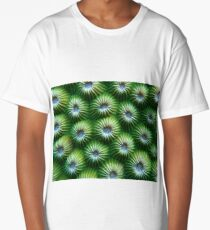 Green Honeycomb Long T-Shirt