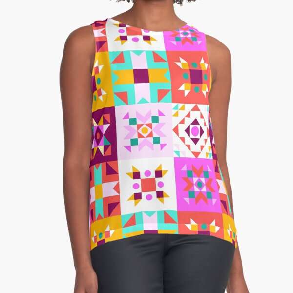 Maroccan dream - pattern no 2 Sleeveless Top