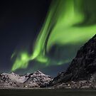 Lights At Skagsanden by John Dekker