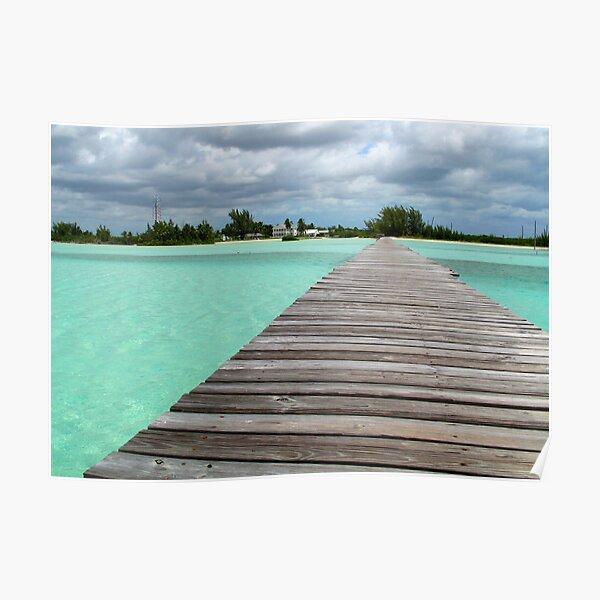 Cherokee Sound, Bahamas  Poster