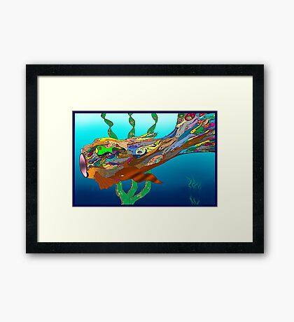 Fish - Plural Framed Print