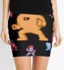ManMega One Pixels Mini Skirt