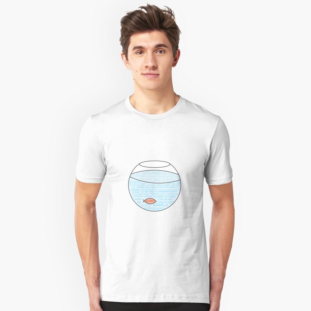 Boris · Serie italiana · Tv show Slim Fit T-Shirt