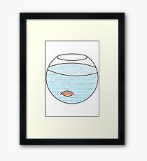 Boris · Serie italiana · Tv show Framed Print