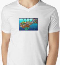 Fish - Plural Mens V-Neck T-Shirt