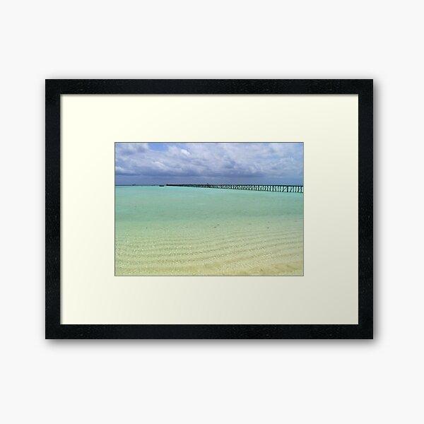 Long Dock at Cherokee Sound (2) Framed Art Print