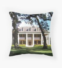 The Crown Jewel of River Road- Houmas House Plantation Throw Pillow