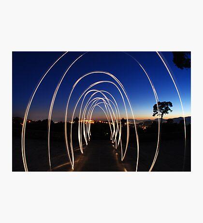 Light alleyway Photographic Print