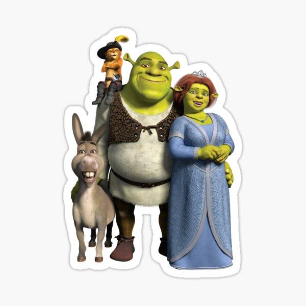 The Shrek Family Sticker